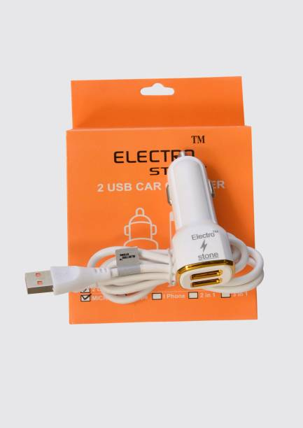 Electro stone 3.4 Amp Turbo Car Charger