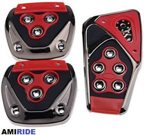 AMIRIDE 3 Pcs Non-Slip Racing Car Truck Pedals kit Car Pedal