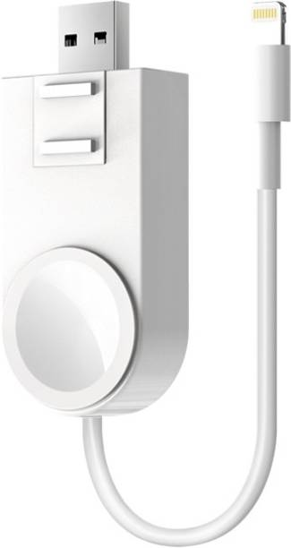 Life Like 2 In 1 Wireless iWatch Fast Charger With Apple Cable For Airpods And iPhones Charging Charging Pad