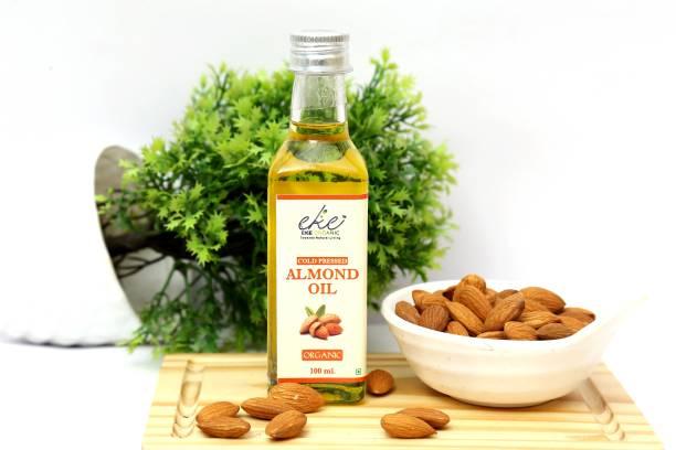 eke organic Organic Almond Oil Almond Oil Glass Bottle