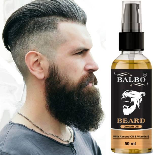 BALBO Growth Oil for strong and healthy beard growth  Hair Oil