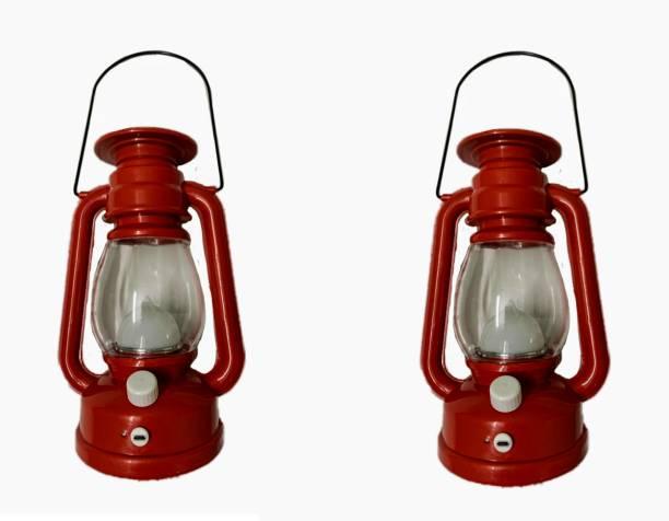 RGEMAC Red Plastic Hanging Lantern