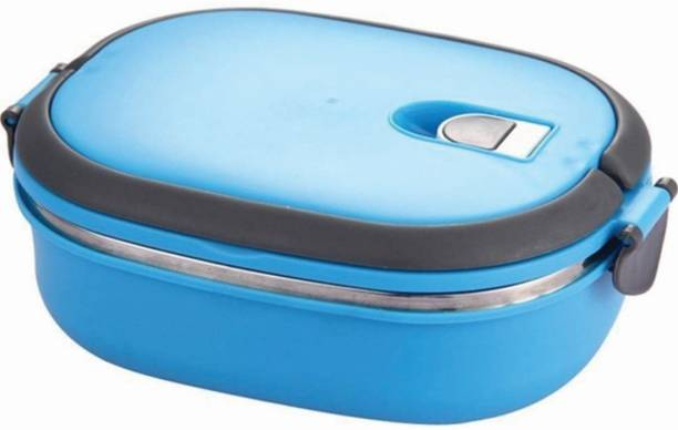 kidsclue Lunch/Dinner Tiffin Box for School & Office Airproof Vacuum 1 Containers Lunch Box
