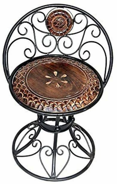 12 STARS wooden and iron beautiful handmade chair Solid Wood Outdoor Chair