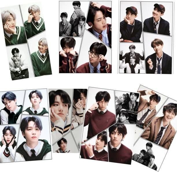 BTS Lomo Card BTS 4x6 inch photocard BTS Postcard BTS Photos 3D Poster