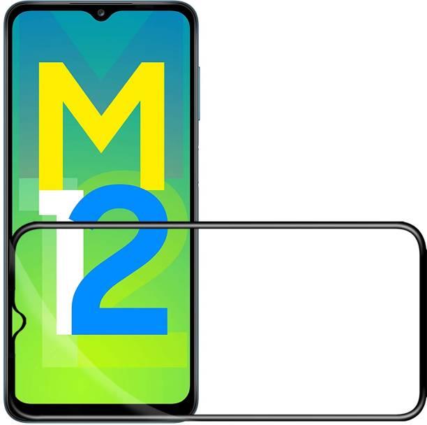 Flipkart SmartBuy Edge To Edge Tempered Glass for Samsung Galaxy M12, REALME C21Y