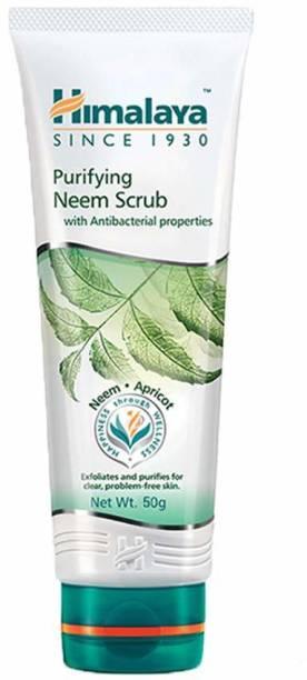 HIMALAYA Since 1930 Purifying Neem Scrub 50g Pack of 5 Scrub