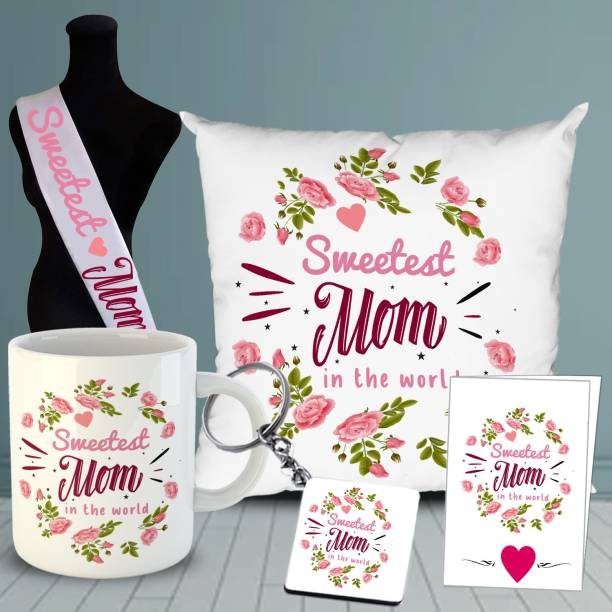 OddClick Mug, Cushion, Greeting Card, Keychain, Sashe Gift Set
