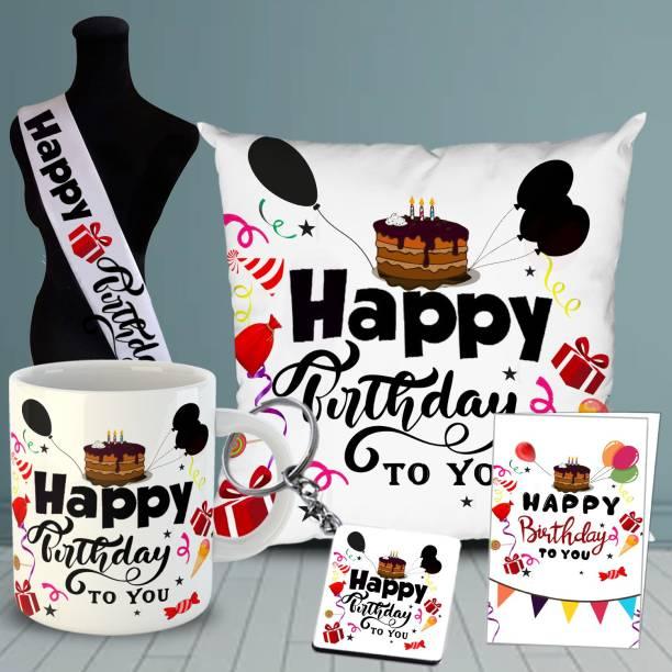 OddClick Mug, Cushion, Greeting Card, Keychain, Sashe Gift Set