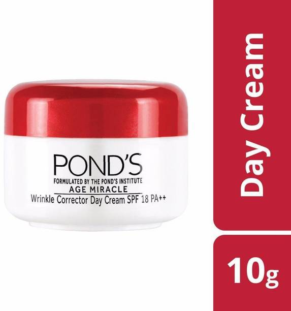 PONDS Age Miracle Wrinkle Corrector Day Cream SPF 18 PA++, 10g