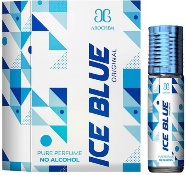 AROCHEM ICE BLUE Attar long lasting fragrance No Alcohol Pure Perfume Herbal Attar Herbal Attar