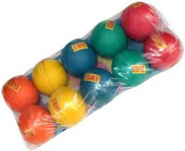 Riddhi-Siddhi Enterprises RSE JUMPER BALLS PACK OF 10 Cricket Rubber Ball