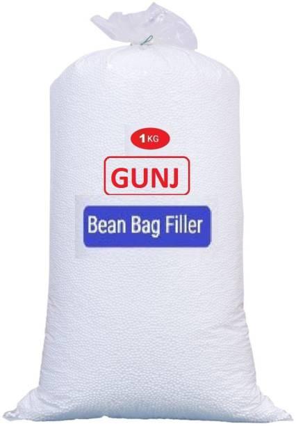 Gunj Premium Bean Bag Refill/Filler-1Kg Bean Bag Filler