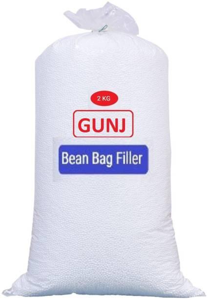Gunj Premium Bean Bag Refill/Filler-2Kg Bean Bag Filler