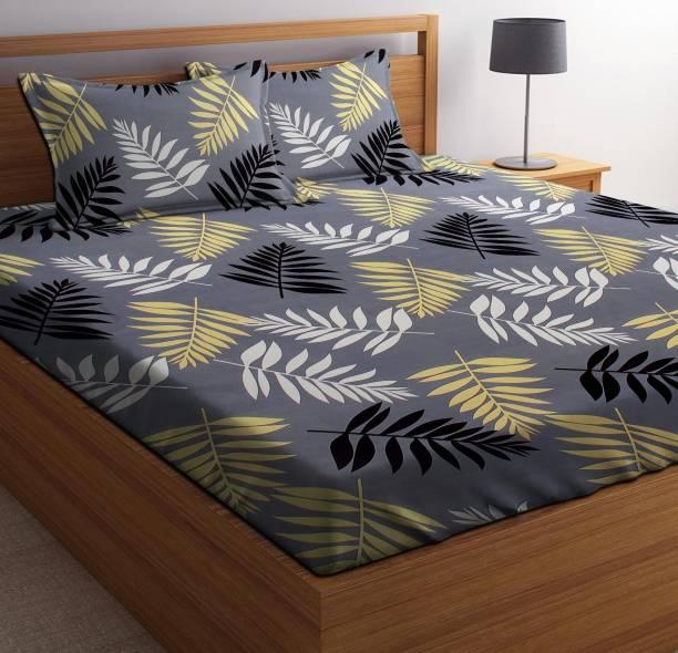 PATWAHOUSE 144 TC Microfiber Double Printed Bedsheet