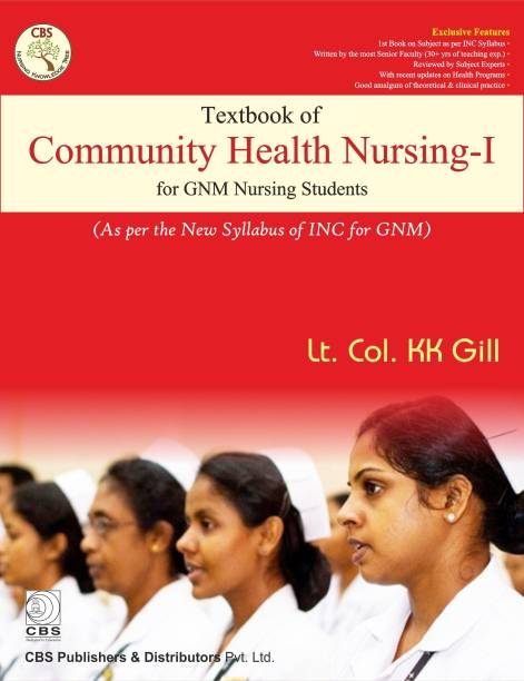 Textbook of Community Health Nursing - I for GNM Nursing Students