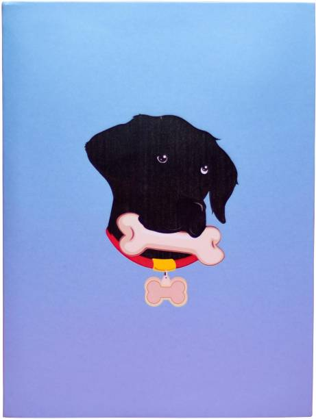 cardpop Black Labrador Dog 3D pop up Greeting Card