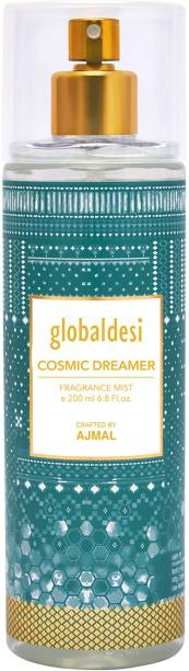 Global desi Cosmic Dreamer Body Mist Crafted By Ajmal + 2 Parfum Testers Body Mist  -  For Women