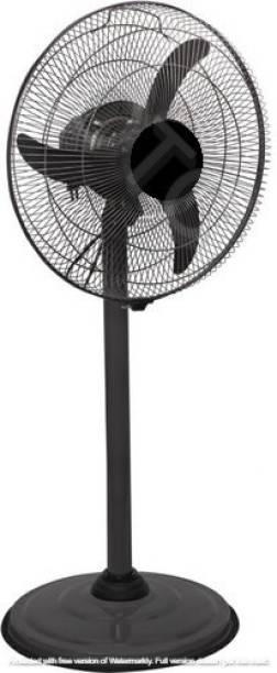 OTC 12 Inch Pedestal Fan   With Copper Motor    1 Year Warranty ISI Marked    Sweep- 300 MM, 12 Inches,metal body 300 mm 3 Blade Pedestal Fan (black, Pack of 1) (K-0030) 225 mm Energy Saving 3 Blade 300 mm Energy Saving 3 Blade Pedestal Fan