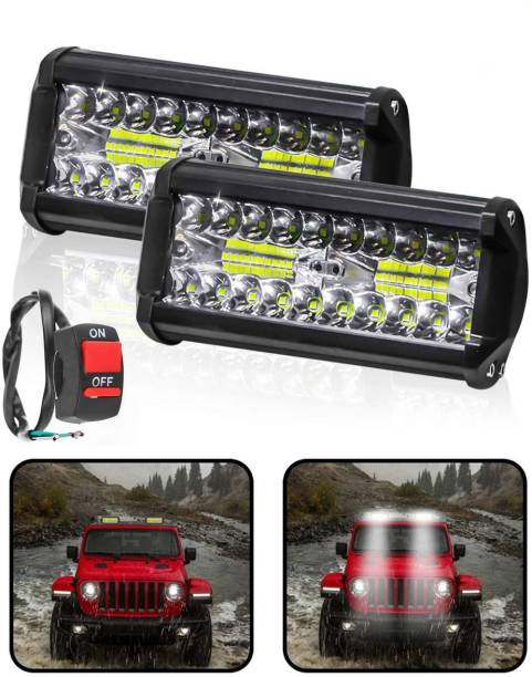 CARZEX LED Fog Lamp Unit for Universal For Car Universal For Car