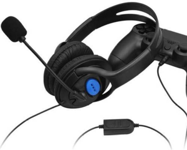 BVG 3.5mm Wired Game headphone,Wired Gaming Headset Headphones with Microphone for Sony Playstation 4  Gaming Accessory Kit