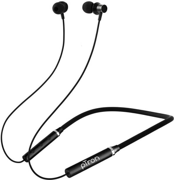 PTron Tangent Beats wireless neckband Bluetooth Headset