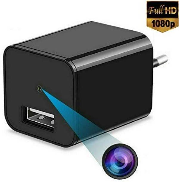 CAM 360 1080p HD Hidden Camera | USB Charger Type | Maximum 32GB SD Support | Loop/Motion Triggered Recording Option | Ideal for Home/Office Monitoring Security Camera