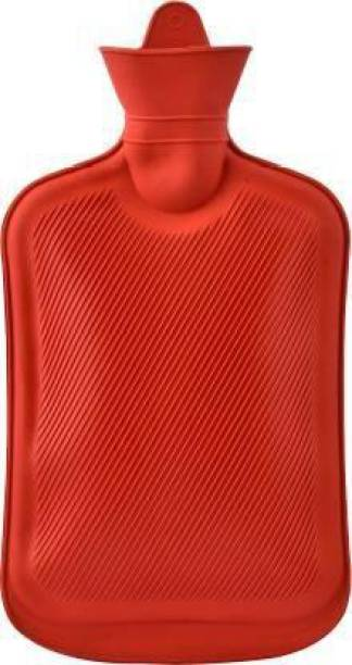 AAFOS Rubber Hot Water Bag / Warm Bag for Pain Relief & Massager Non Electrical 2 L Hot Water Bag Non electrical 2 L Hot Water Bag