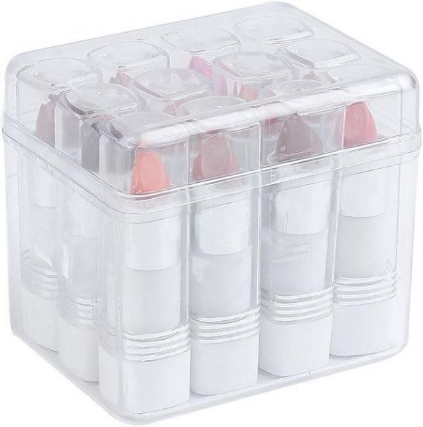 Make line Multicolor Matte Smooth Finishing Lipsticks Set Of 12