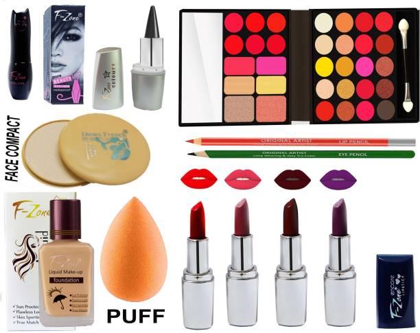 F-Zone Professional Makeup Kit for Girls/Women FM34