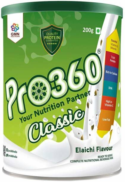 PRO360 Classic Nutritional Protein Drink Supplement Powder for Men and Women Nutrition Drink