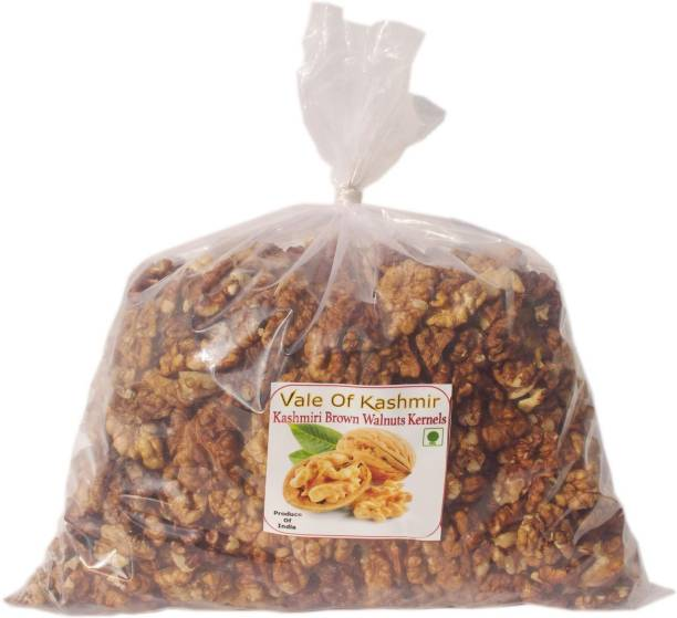 vale of kashmir Kashmiri Walnut Kernels Brown Half Walnuts