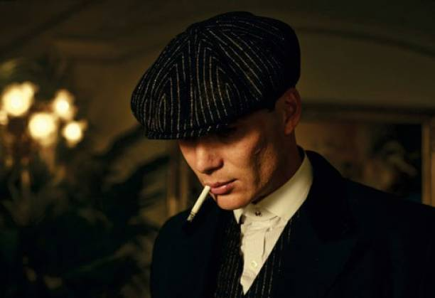 Peaky Blinders TV Series Wall Poster For Home And office Décor Print on 300gsm Thickness Paper With Gloss Lamination And Both Side Tape on Poster Back Side (Size 13 Inch X 19 Inch, Rolled) Multicolor Photographic Paper