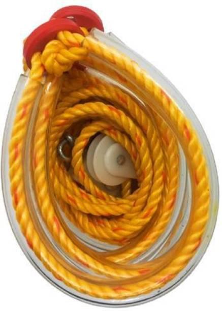 Natural Yoga Rope/Abdominal Excerciser/Pocket Gym Rope Resistance Tube