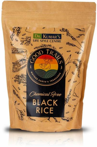 Dr. Kumar's Lifestyle Centre Black Rice has higher weight Powerful Antioxidant Lowers Cholesterol. Black Black Rice (Medium Grain, Unpolished)