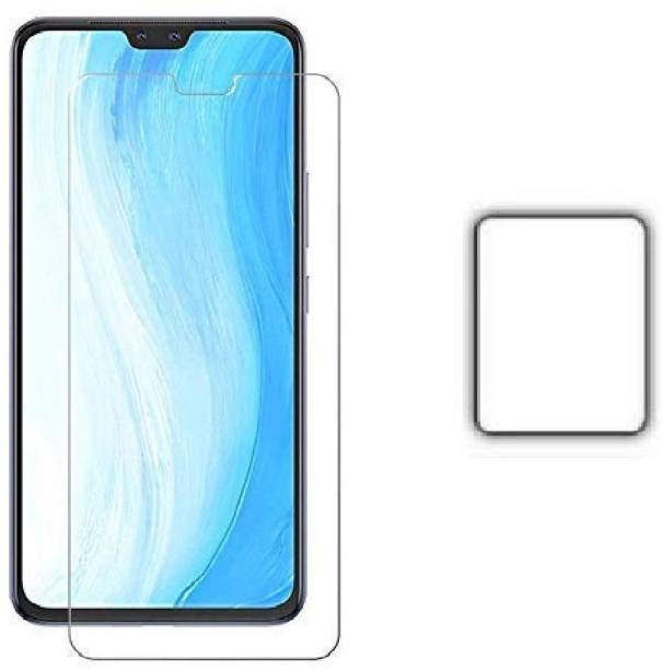 ISAAK Tempered Glass Guard for Vivo V20 Pro Tempered Glass & Back Camera Lens Protector (Combo Pack)