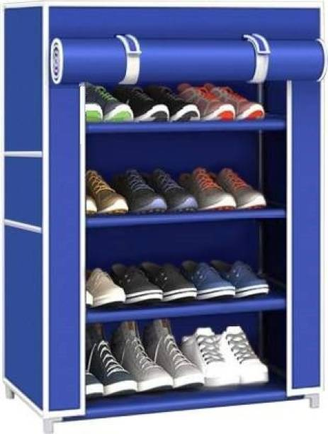 POWEREST chappal stand Metal Collapsible Shoe Stand