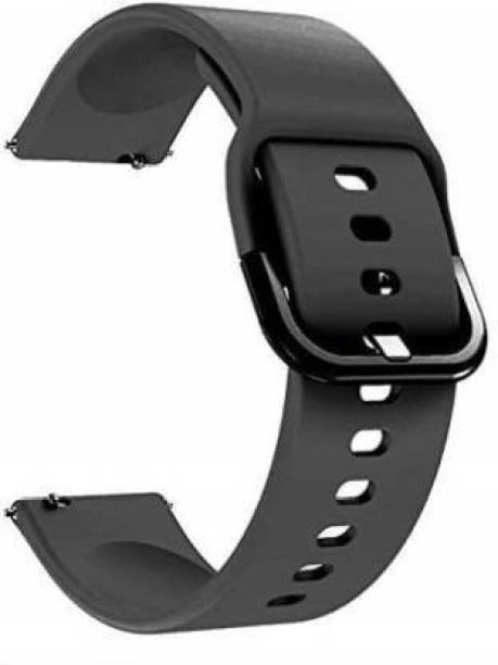 Big Wings Soft Silicone 22mm Band Strap with Metal Buckle Compatible for Galaxy Watch 3 45mm/Galaxy 46mm/Gear S3 Frontier,Classic/Amazfit Pace Stratos,Stratos+,Stratos3 /Huawei GT2 46mm/Honor Magic Watch 2 (46mm) & Smartwatch with 22mm Lugs Smart Watch Strap