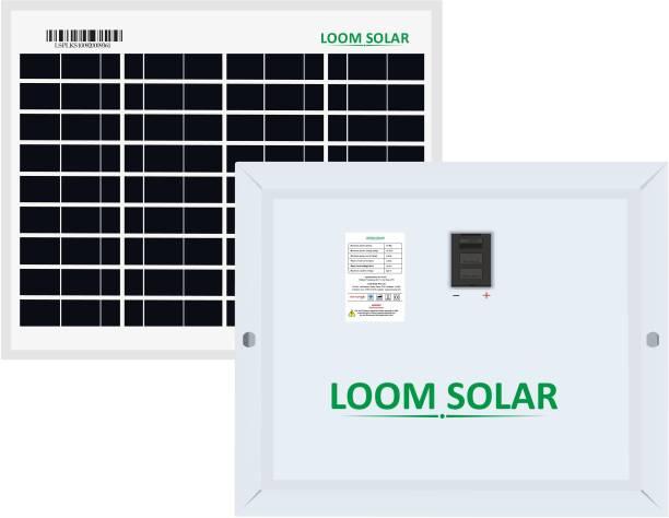 LOOM SOLAR 10 Watt Solar Panel