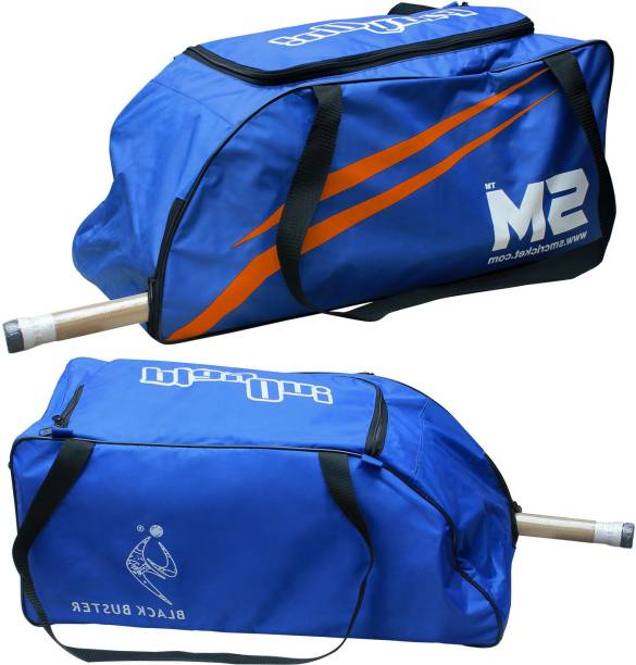 SM BLACK BUSTER Cricket Kit Bag / Hockey / Football / Travel Duffel Backpack