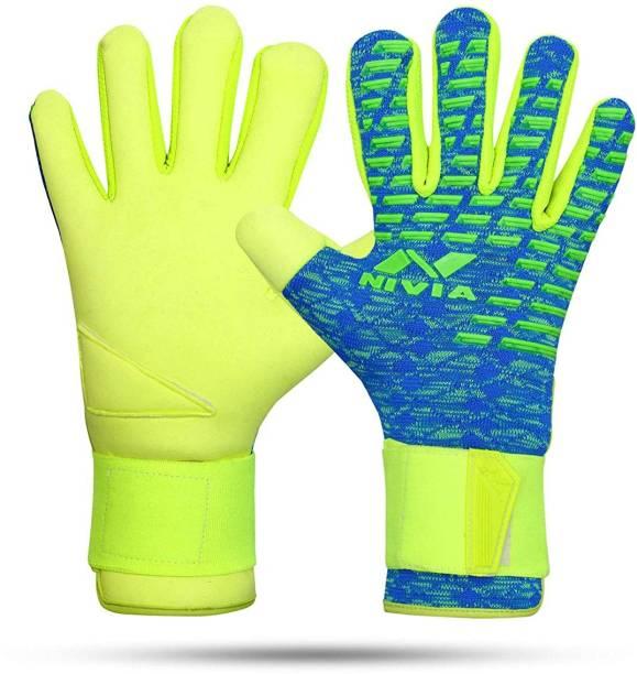 NIVIA Ashtang - Green/Blue-(2021 Model) Goalkeeping Gloves