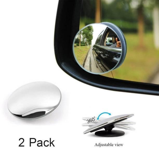 ZeeKart Manual Blind Spot Mirror For Volkswagen, Hyundai, Maruti Suzuki, Honda WagonR, Swift Dzire, Omni, XUV 500