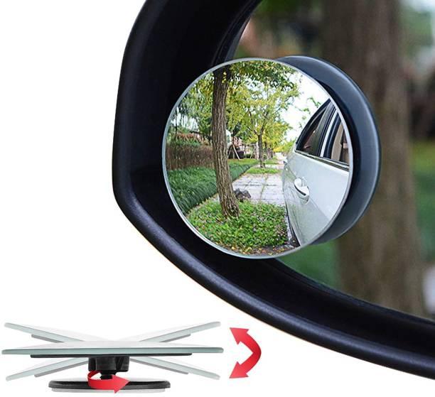 ZeeKart Manual Blind Spot Mirror For Volkswagen, Mahindra, Maruti Suzuki, Hyundai WagonR, Swift Dzire, KUV100, i20 Elite