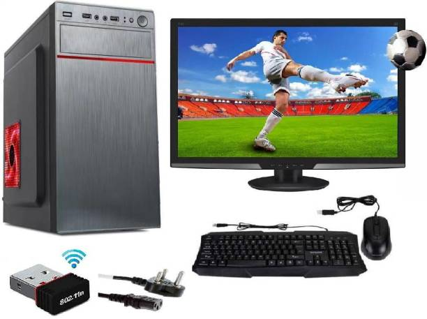 """brozzo G SERIES Core i3 (4 GB DDR3/500 GB/120 GB SSD/Windows 10 Pro/4 GB/15 Inch Screen/I3/4GB/500GB/120GB SSD/15"""" LED WITH WIN-10 & MS OFFICE) with MS Office"""