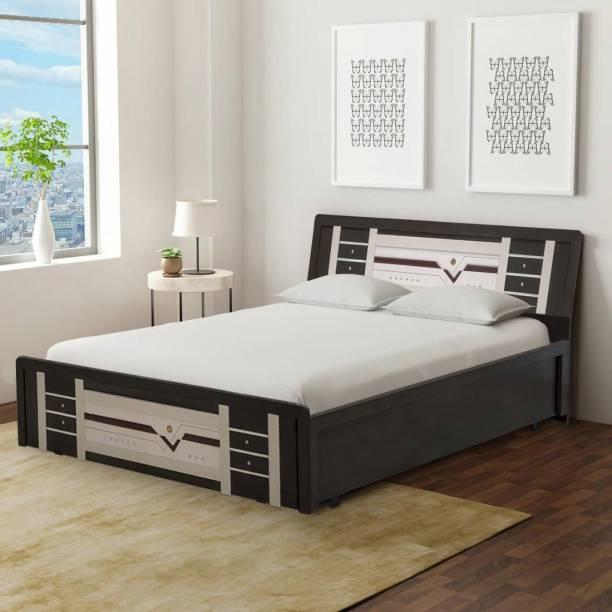 Chandra's Engineered Wood King Hydraulic Bed