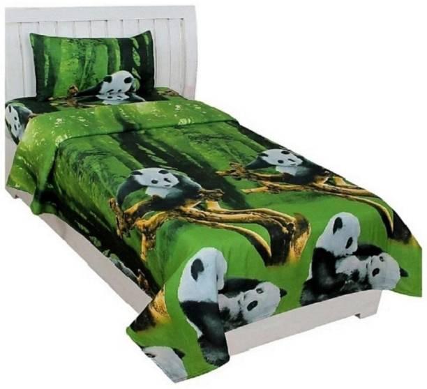 Pridhi 160 TC Cotton Single Printed Bedsheet