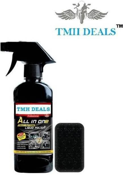 TMH Liquid Car Polish for Leather, Tyres, Dashboard, Metal Parts, Headlight