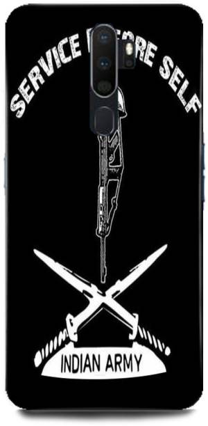 Rockyard Back Cover for OPPO A5 2020, indian,army,soldier,Army,Uniform,Military,Como,Comoflage,Dress,code,