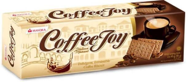 Mayora Imported Coffee Joy Biscuit 90g*3 Biscotti