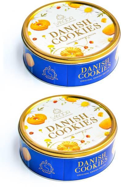 Smoor Get 2 Tins of Delicious DANISH COOKIES at a price of 1, The Original Danish recipe